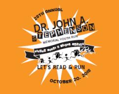 Dr. John A. Stephenson Memorial Youth Run - Saturday, October 20Riverside Park