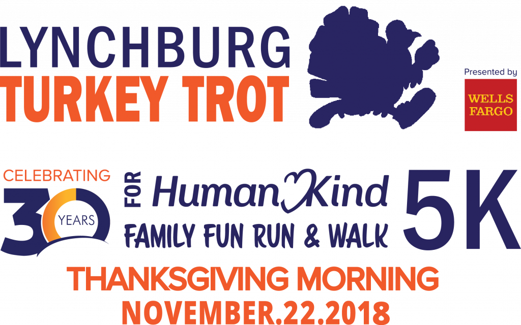 HumanKind Lynchburg Turkey Trot - Thursday, November 22Lynchburg, VA