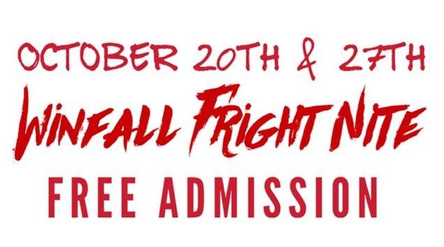 Winfall Fright Night - 7pm-12am, FREEWinfall Baptist ChurchThis is a haunted hayride up to a haunted house and ending with the Haunted Trail. This is a FREE event that Winfall Baptist Church.