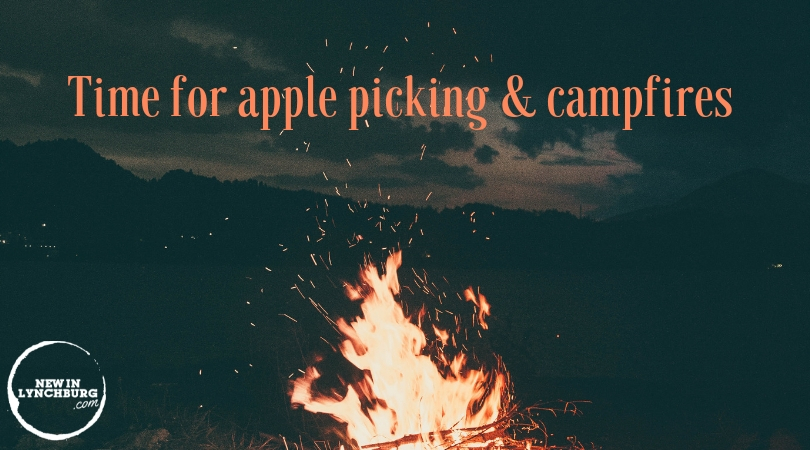 Time for Apple Picking & Campfires - If a day of apple picking, hiking, and ending with the warm glow of a campfire sounds good, then read on.