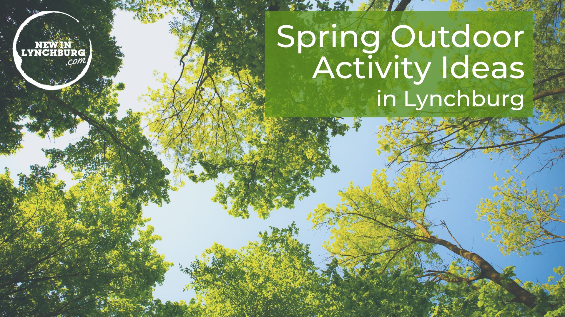 Spring Outdoor Activity Ideas in Lynchburg - After a bitterly cold winter, it is finally feeling a bit warmer despite a couple of bouts of snow. During the warmer days, many people feel desperate to get outside and enjoy the nice weather. Here are four outdoor activities that you might enjoy!