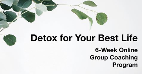 20% OFF GROUP DETOX PROGRAM   Interested in detoxifying your life? Join this 6-week program from May 6-June 14, 100% online, that will provide you with guidance and training on how to detoxify all areas of your life. Use coupon code NEWINLYNCHBURG for 20% off. Registration closes on Saturday, May 4th. For more information on what this program includes and how you can secure your spot, click below.