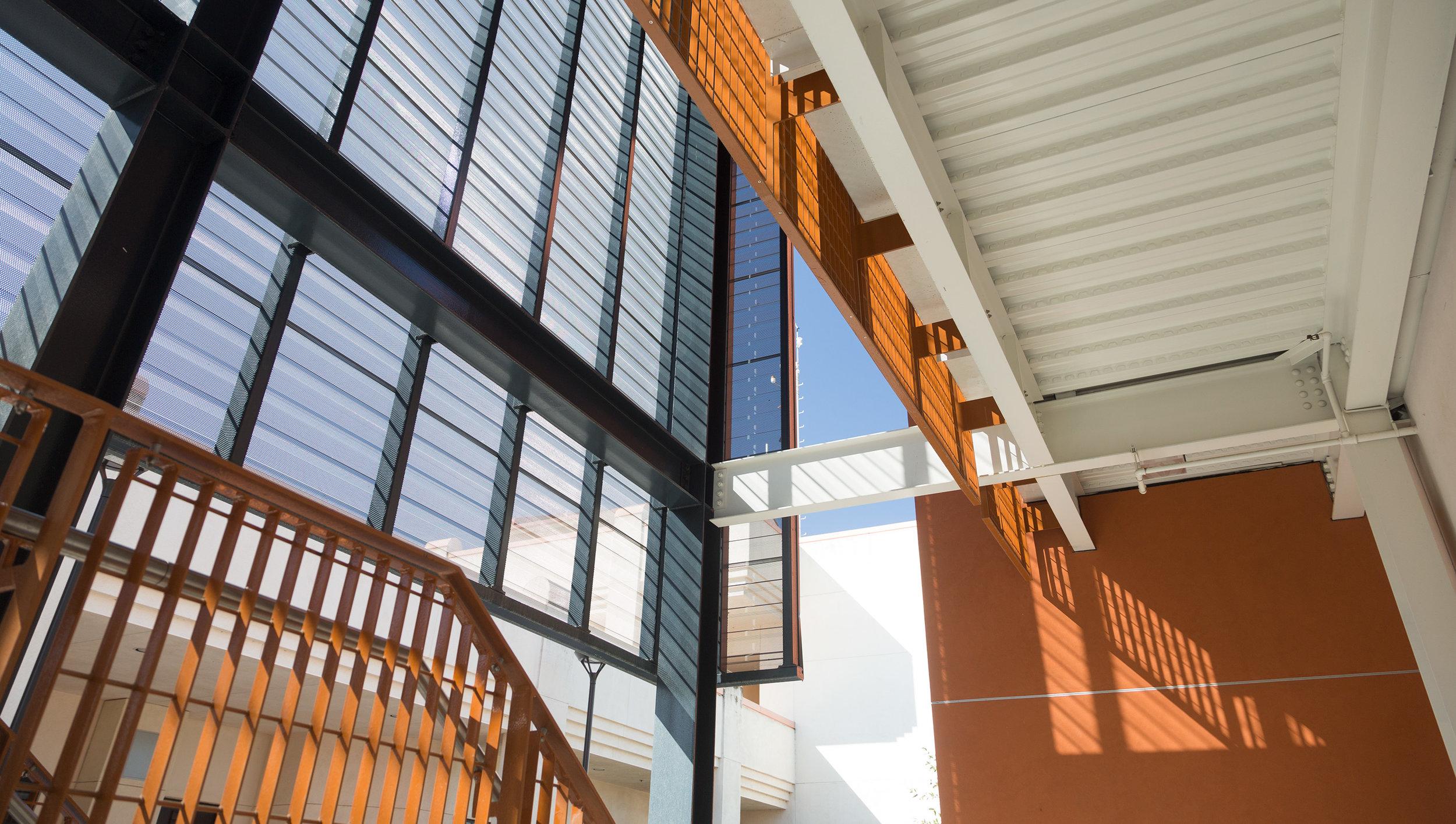 interior of building at Las Positas College