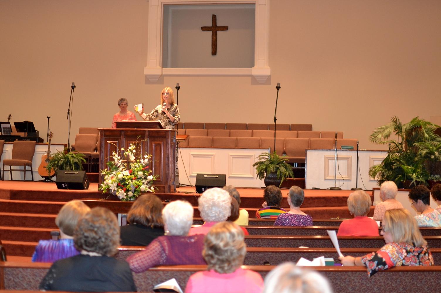 AWAC annual meeting at the Red Bay FWB Church