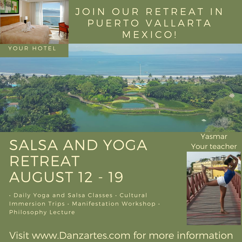 Manifest 2017a Salsa and Yoga Retreat - August 12th-19th in Puerto Vallarta, Mexico