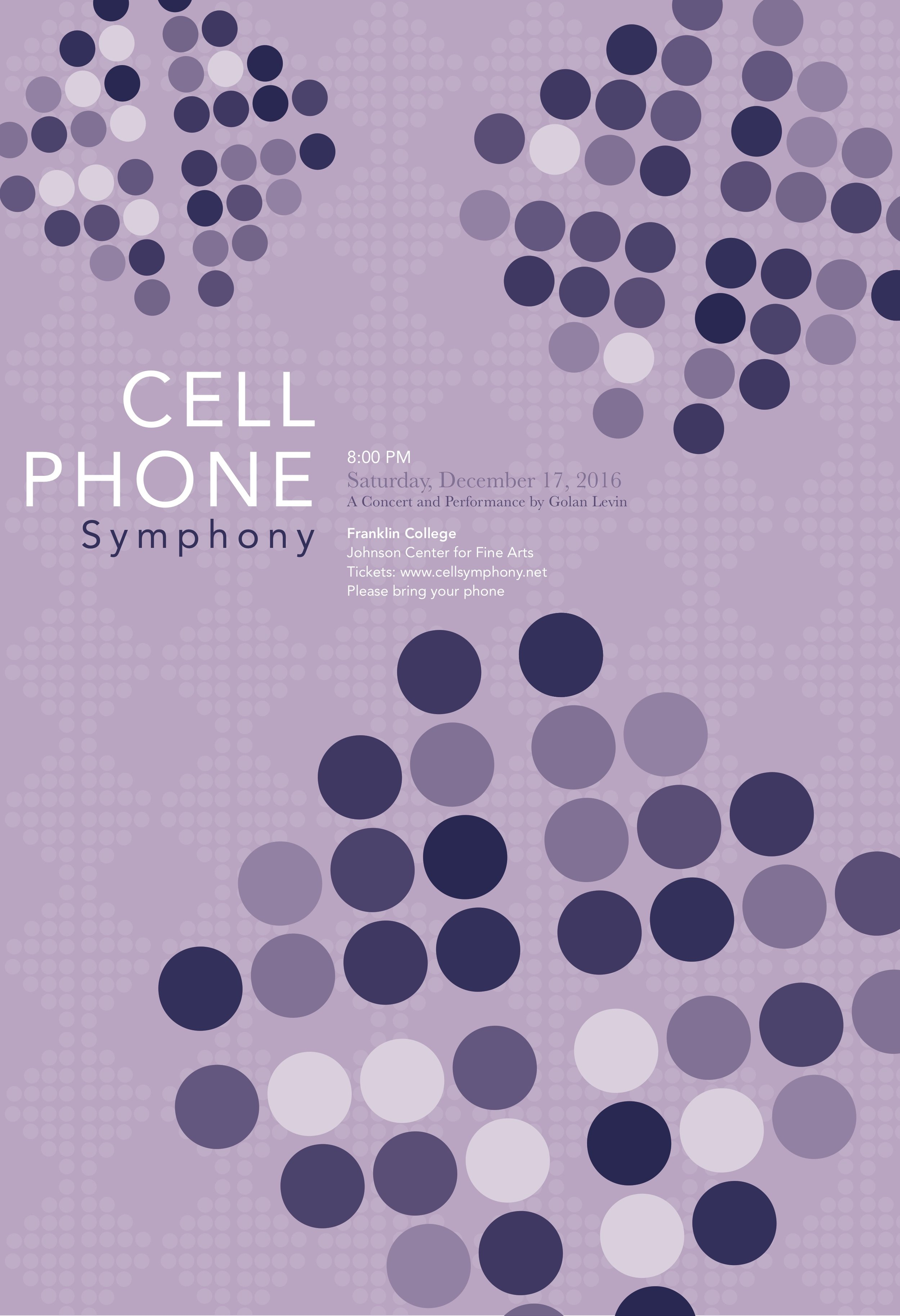 Cell phone symphony poster