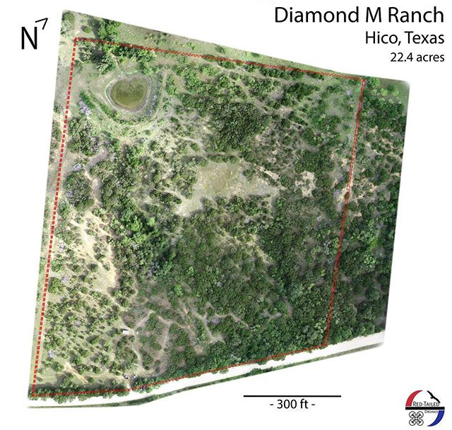 With our new grid mapping technique, Red-Tailed Drones can map your ranch property with precision. Offering an up to date and high quality image that can be used to plan development, monitor plant disease and even find a great new hunting spot! #flyredtailed #gridmapping #dji #phantom #drone #aerial #map #ranch #hico #texas #uas