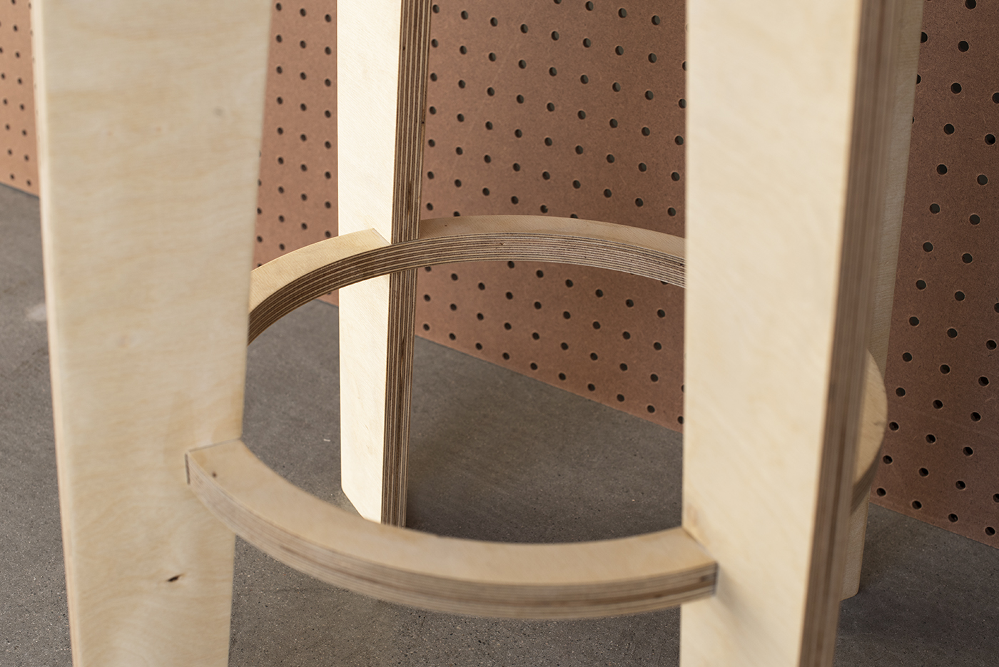 CNC Furniture Stools by Klo Lab