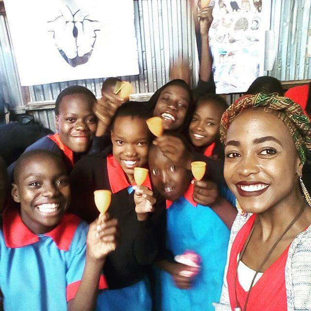 Our latest cup trainer Leila!!!♥️ @jenniferweisswolf @cyclesandsex @monki @lunettecup #sustainable #periodsarecool #ecofriendly #girlpower #yoni #yoga #menstruation #menstrualcup #menstrualcups #periods #periodtalk #menstruationmatters #uterus #breakthetaboo #periodpositive #periodproblems #periodblood #menstrualhealth #menstrualhygiene #PeriodEmpowerment #empoweringwomen #HappyPeriod #MenstrualEducation #zerowaste #yoniverse #padsforsex #menstrual #dayofthegirl #cyclesandsex #cupsummit @florawis @madamegandhi @julesatto