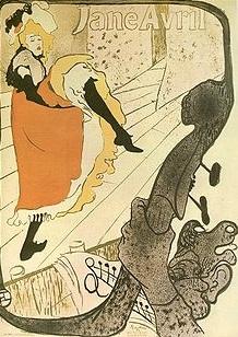 """""""Jane Avril""""  (1893) by Henri de Toulouse-Lautrec (French, Albi 1864–1901 Saint-André-du-Bois), via The Metropolitan Museum of Art is licensed under  CC0 1.0"""