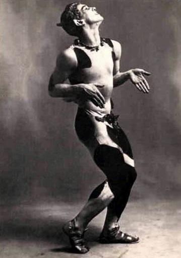 Nijinsky in L'après-midi d'un faune
