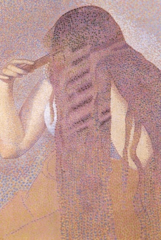 Henri Edmond Cross (1856-1910),  La chevelure  (ca. 1892)