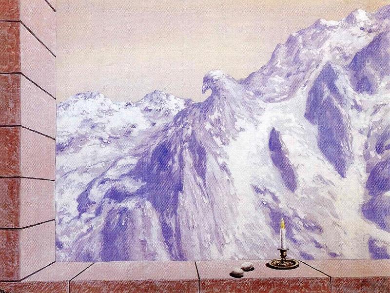 René Magritte,  The Domain Of Arnheim  (1938)