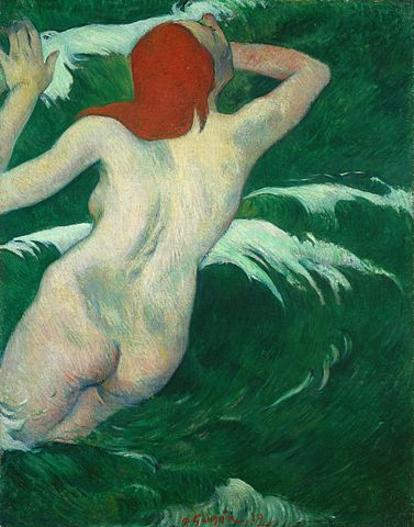 Paul Gauguin (1848-1903),  In the Waves (Ondine)  (1889)