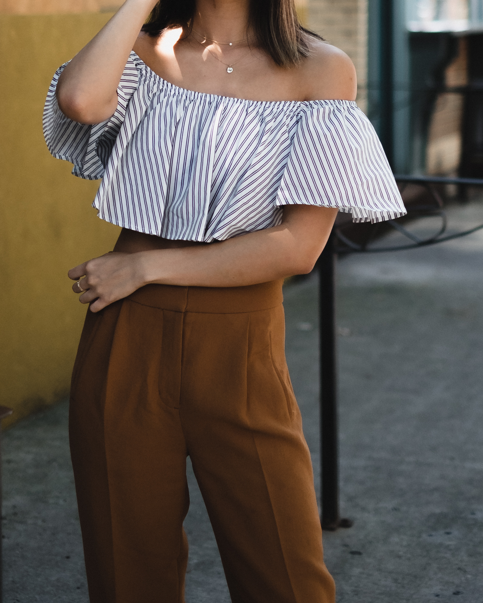 blogger summer casual outfit