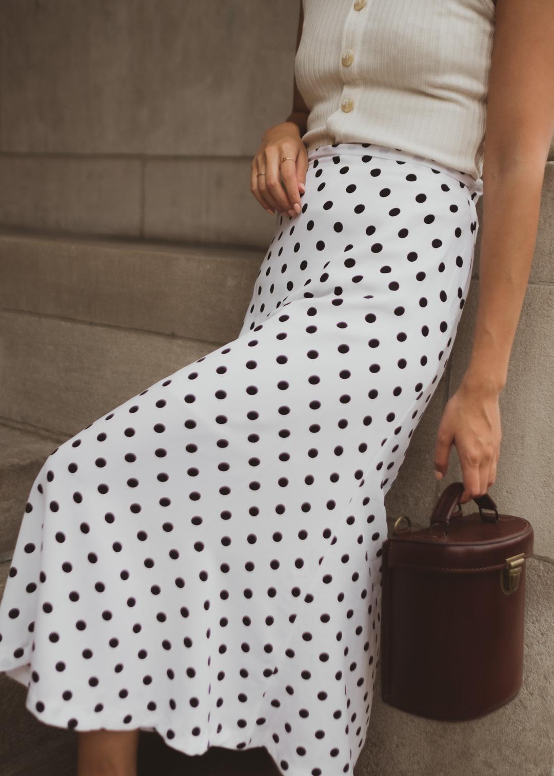 polkadot-skirt