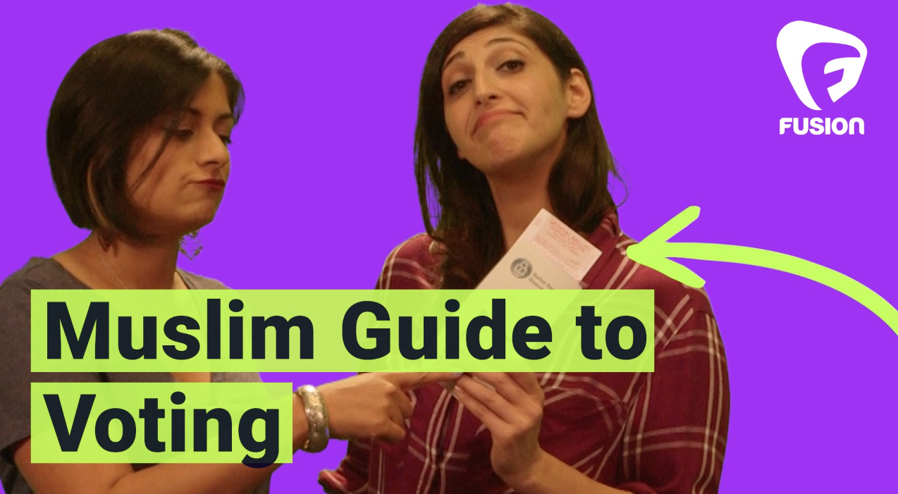 The #GoodMuslimBadMuslim Guide to Voting   w/ Fusion Video (2016)
