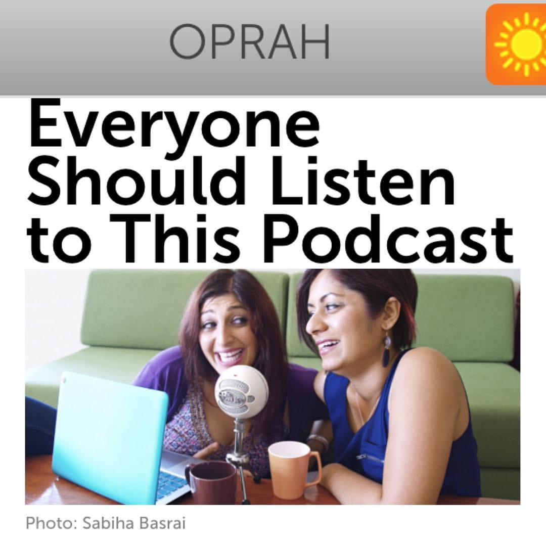 Everyone Should Listen to This Podcast At Least Once | Oprah Magazine   (Feb 2016)