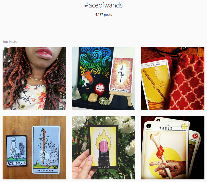 that's me in the top-left pic btw rocking an ace of wands necklace