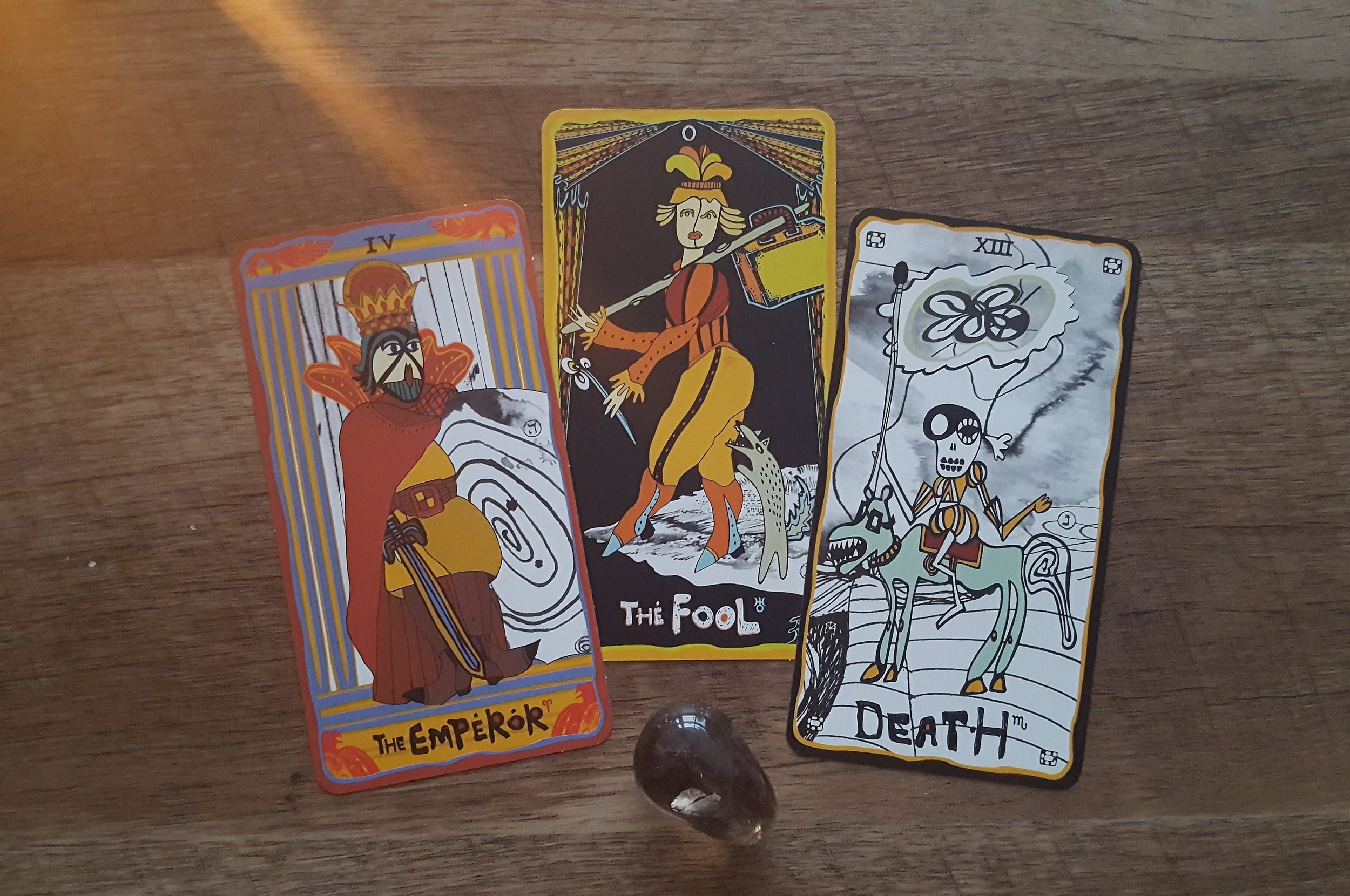 The Fool and my Birth Cards