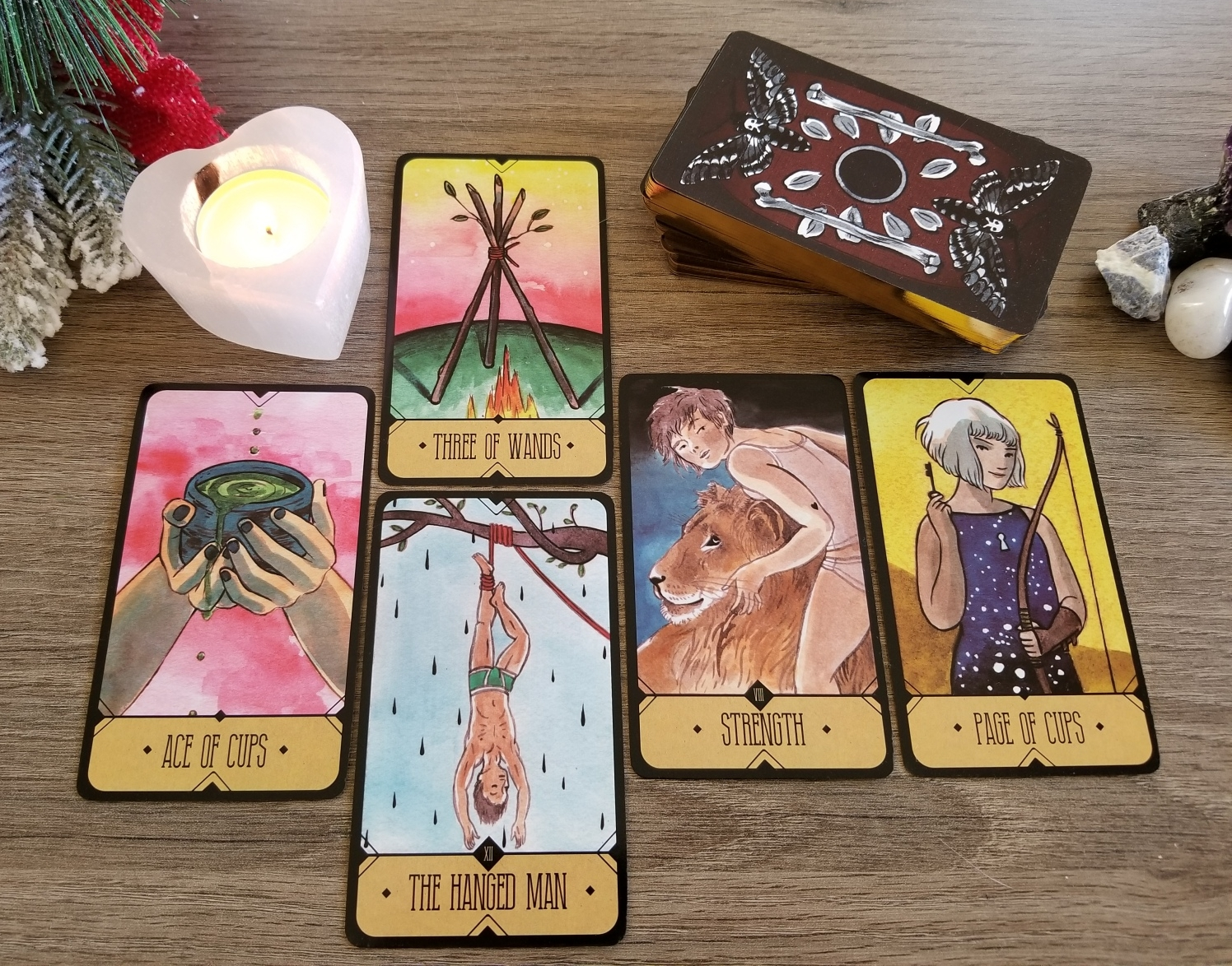 deck interview with the Sasuraibito Tarot