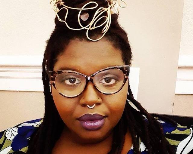 Courtney Alexander, creator of the Dust II Onyx Tarot