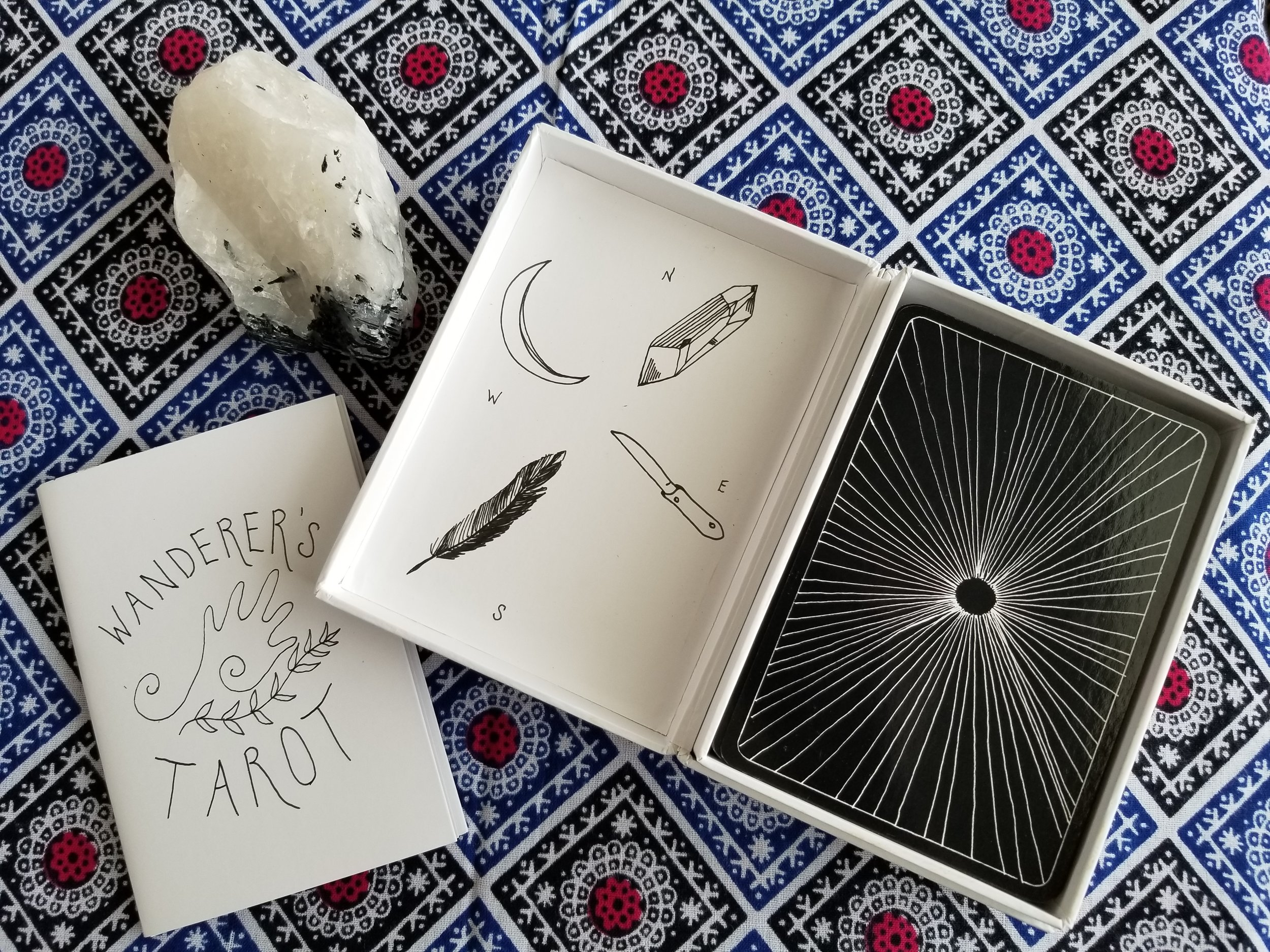 Box & LWB from the Solar Wanderer's Tarot