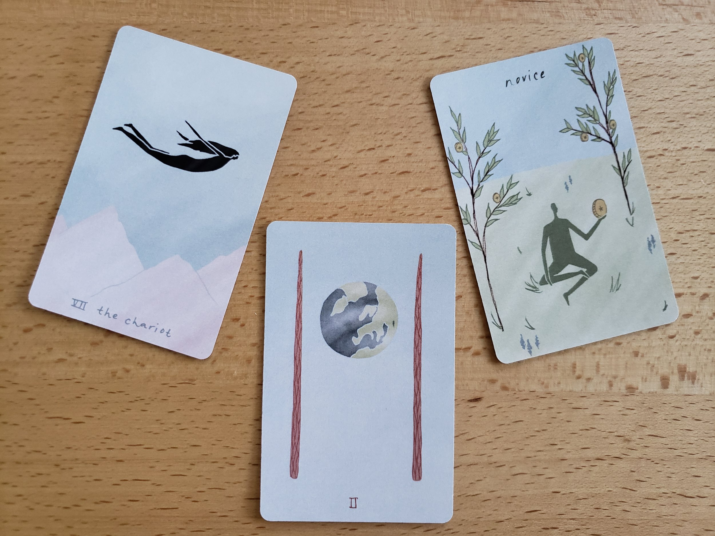some beauties from the Mesquite Tarot