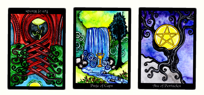 a reading from the Tarot of Trees app