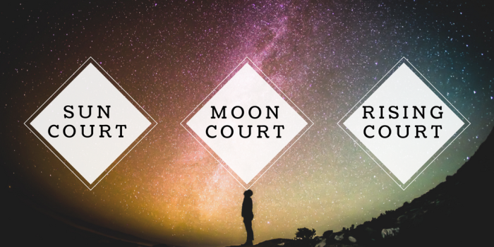 Use the infographic from Labyrinthos to find your Sun, Moon, and Rising court cards.
