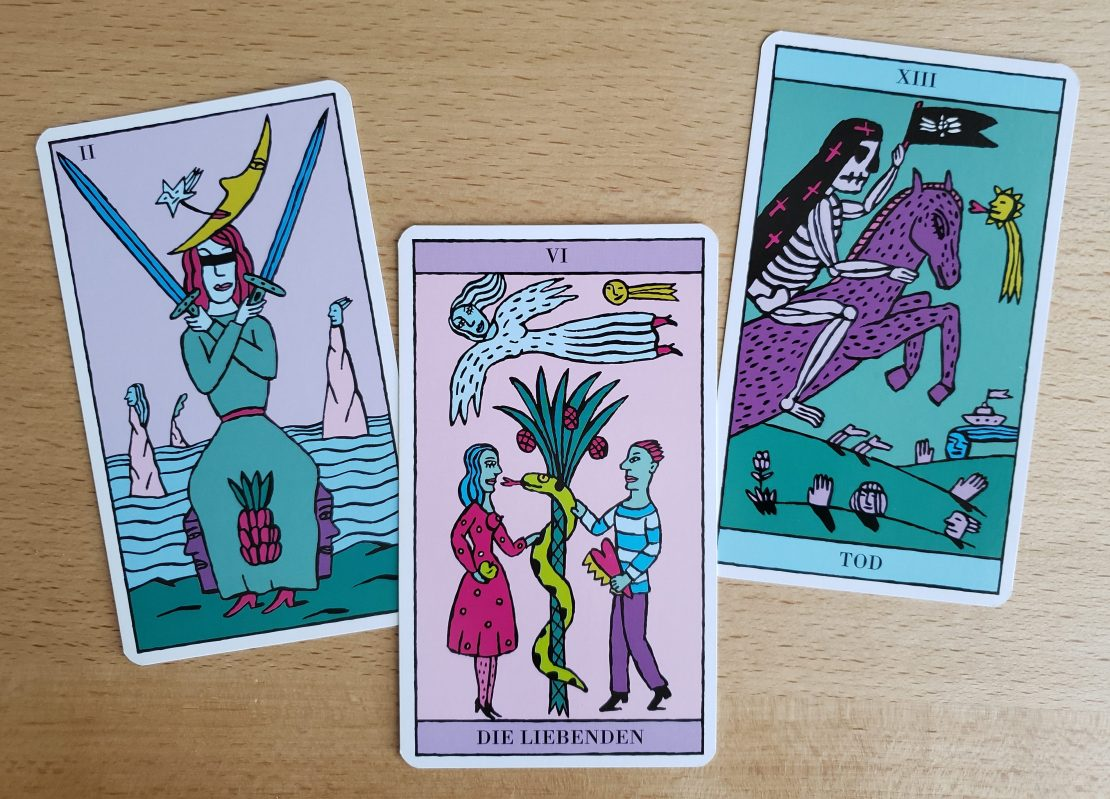 Majors from the Kitty Kahane Tarot