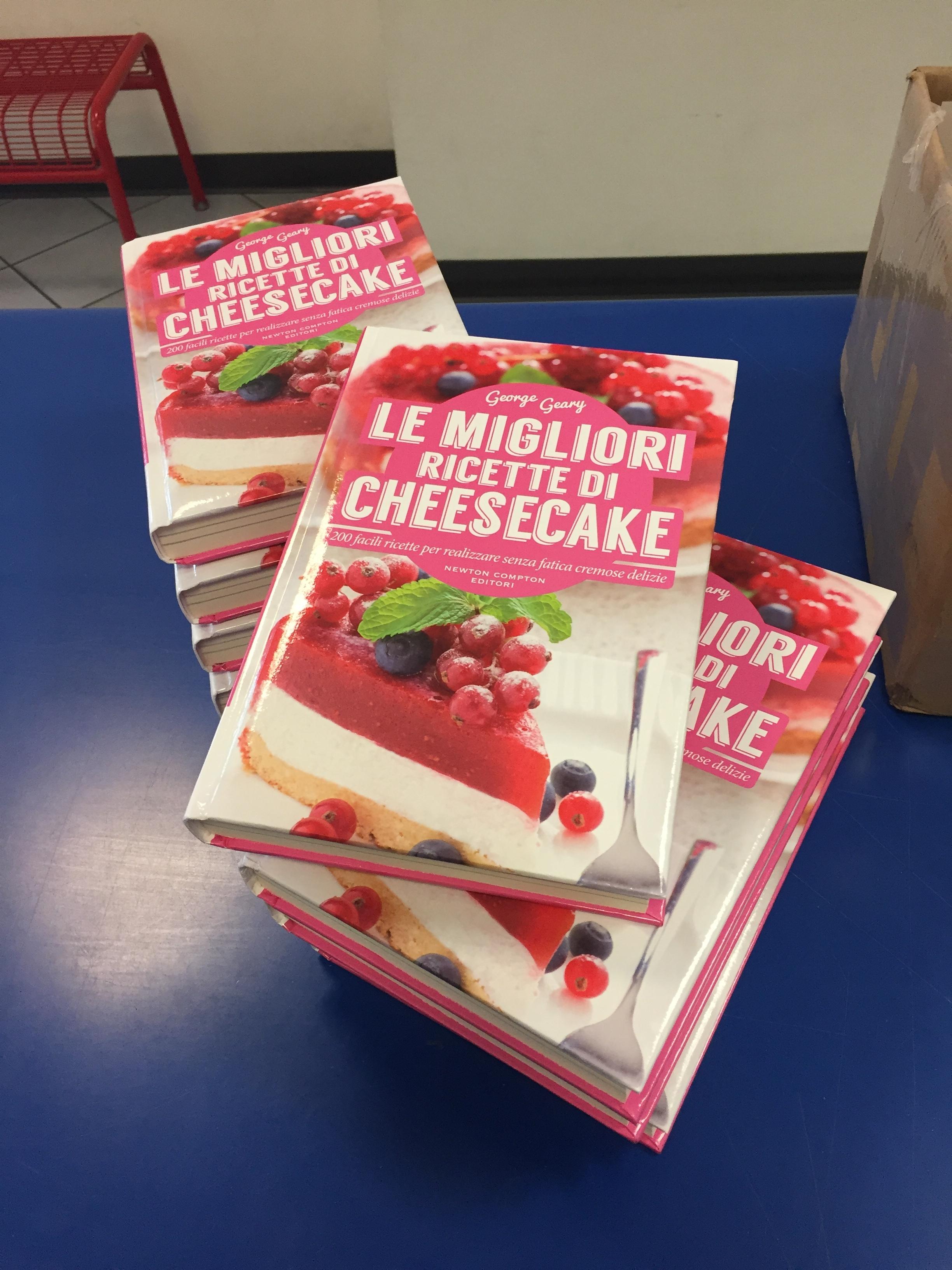 The Cheesecake Bible in Italian!