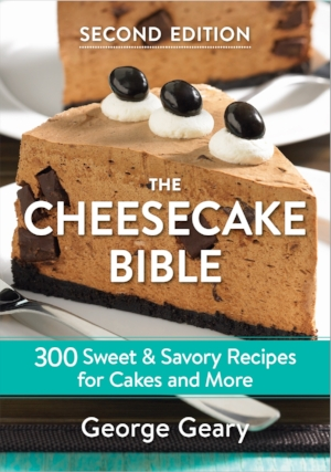 Purchase my new Cheesecake Bible Vs2. by 12/10 for Christmas! Over 300 recipes! Personalized too!  STORE