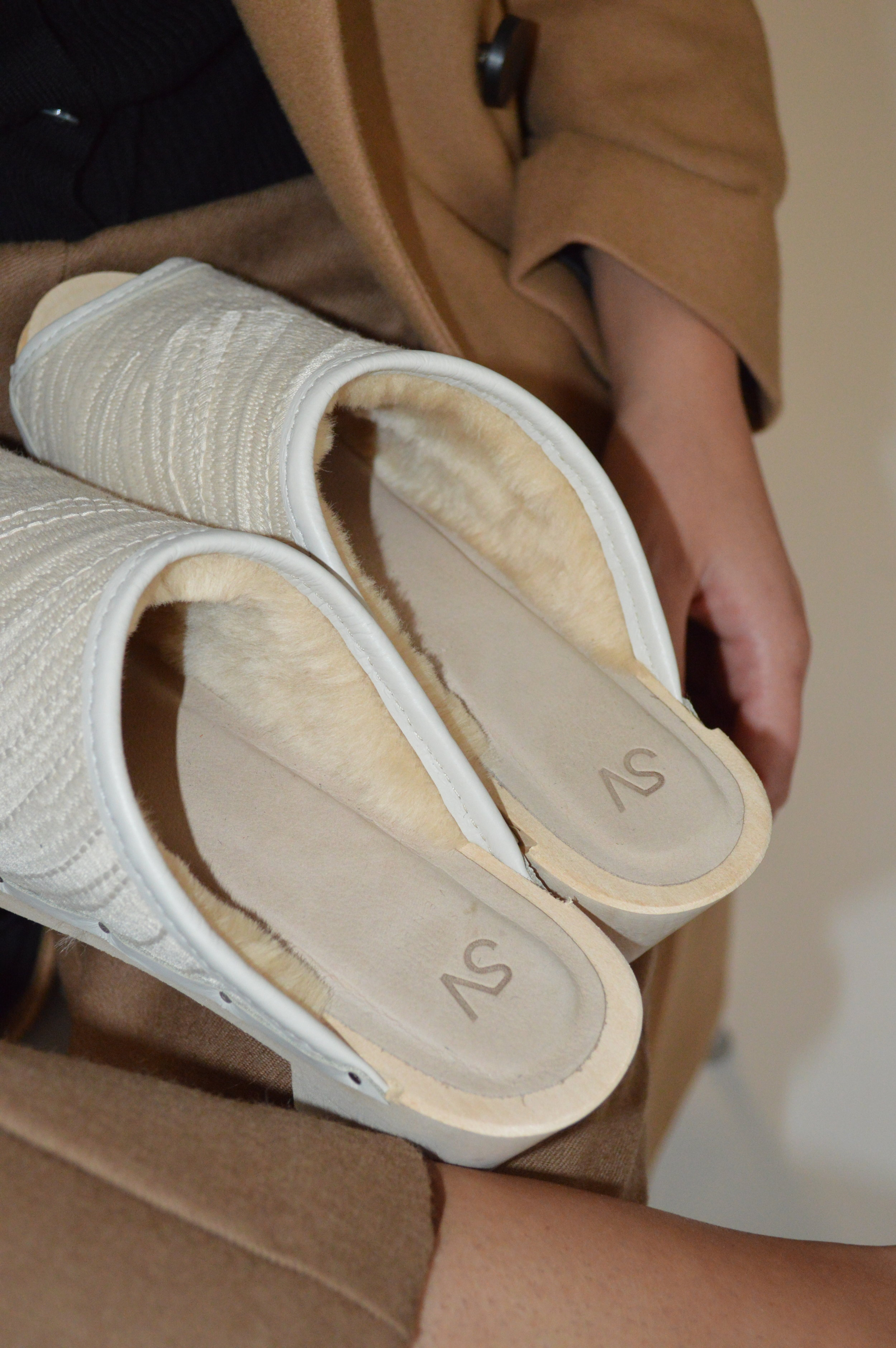 GUARDIAN ANGEL - Ivory Shannon Shearling Lined; a super special splurge reserved for your most beloved - your Mom, your Mentor, yourself… :)
