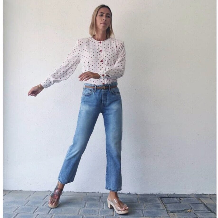 @mommyplaysdressup - Timeless denim with a hint of vintage.
