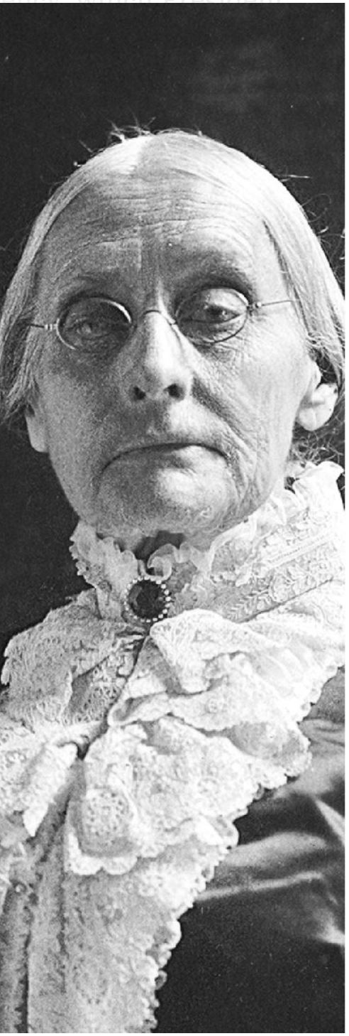 Susan B. Anthony From: Hulton Archive, via Getty Images; via Library of Congress: via Library of Congress; Hulton Archive, via Getty Images; Associated Press; via NY Times -