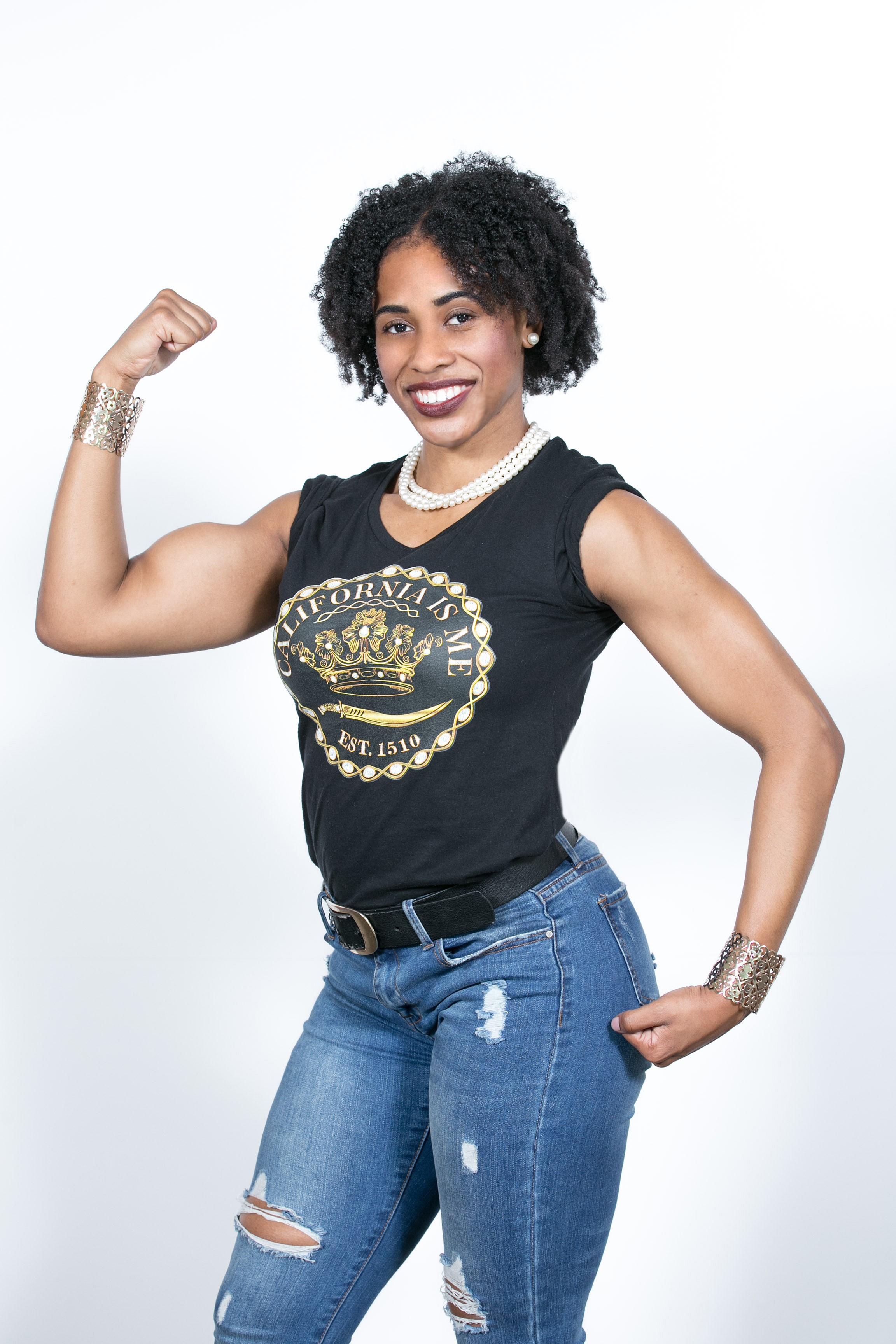 No! It's Queen Calafía's original black women Amazon warriors on golden California in the flesh! - California's beautiful Amazons ruled by Queen Calafía slay barriers all day!