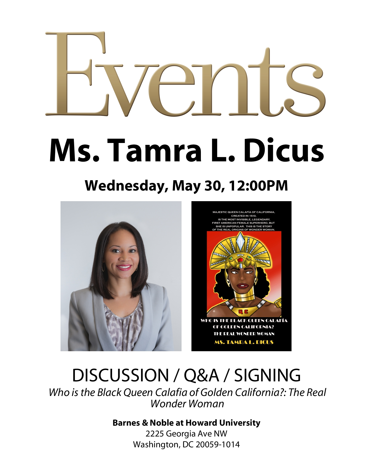 Dicus BN Howard University bookstore event flyer.jpg