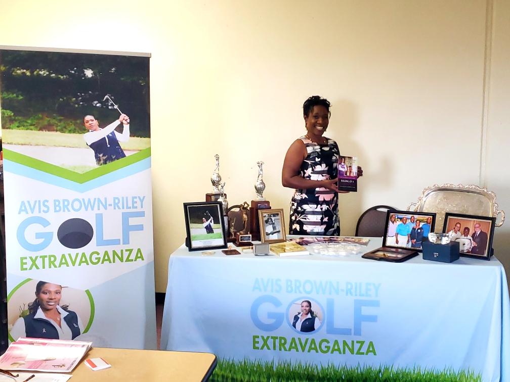 Black Queen of Golf - Queen Avis Brown-Riley = Queen Calafia! Read more here:  click