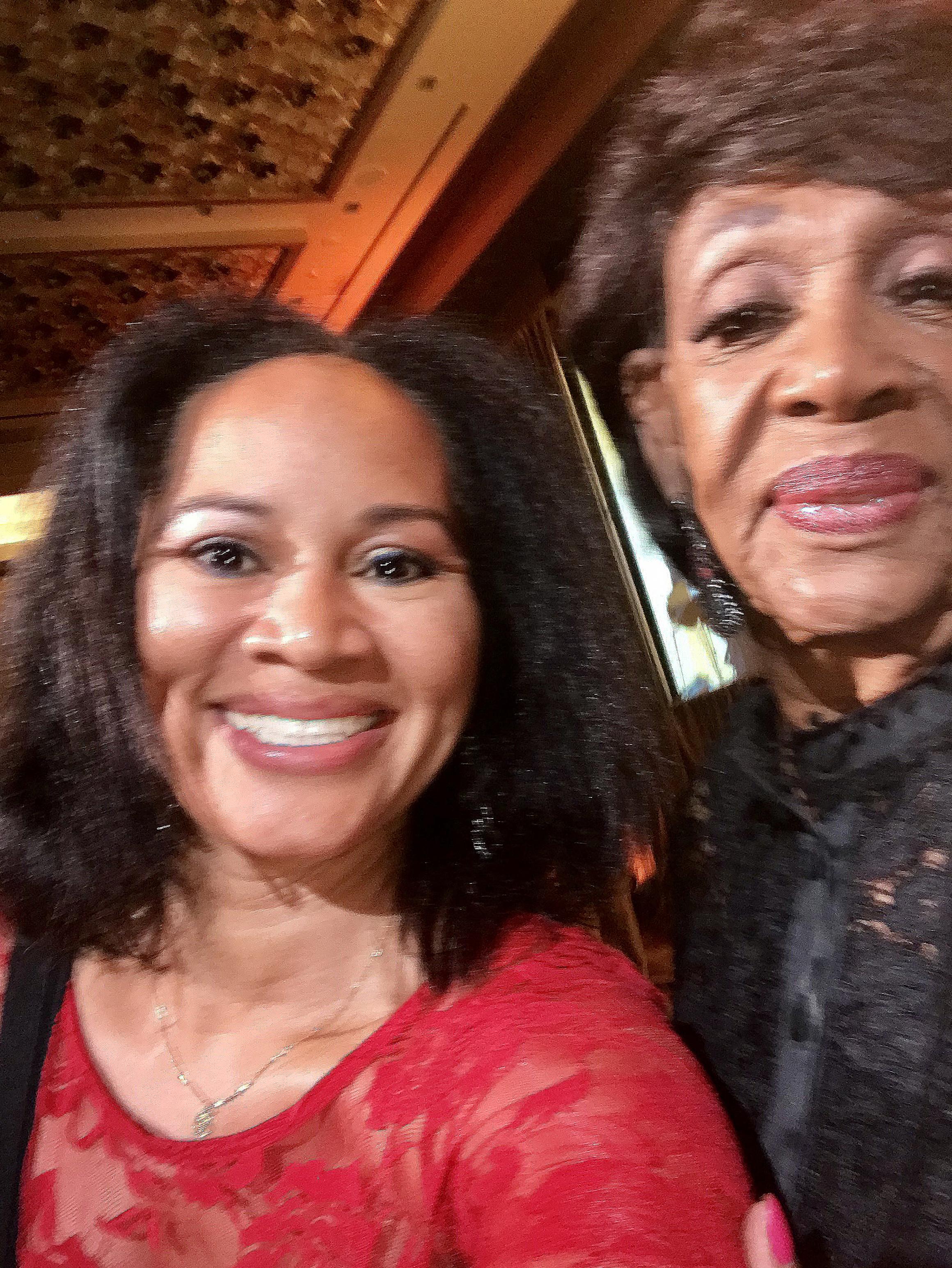 California Congresswoman Queen Maxine Waters