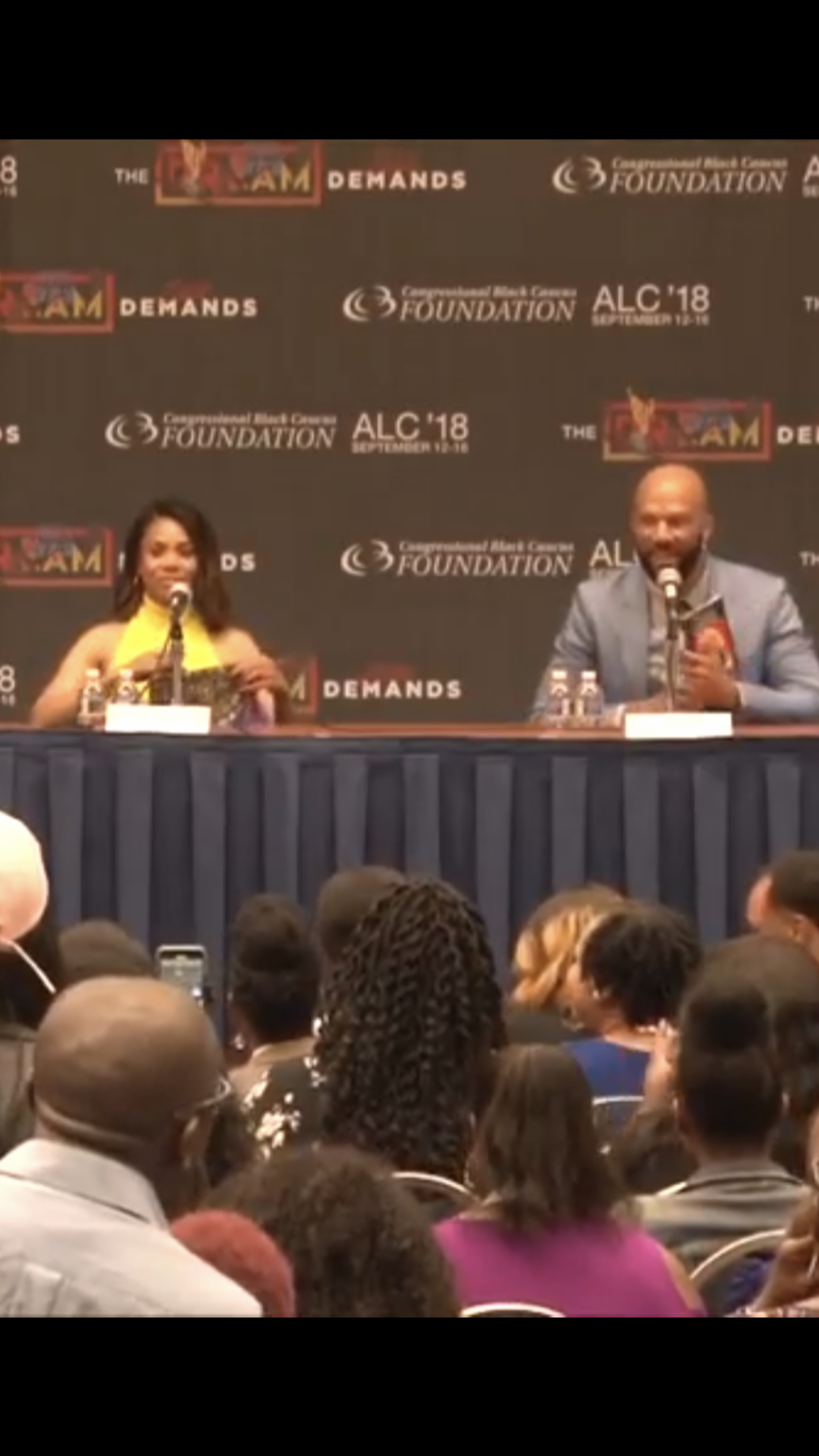 King Rapper Common reads Who Is The Real Queen Calafia of California?: The Real Wonder Woman