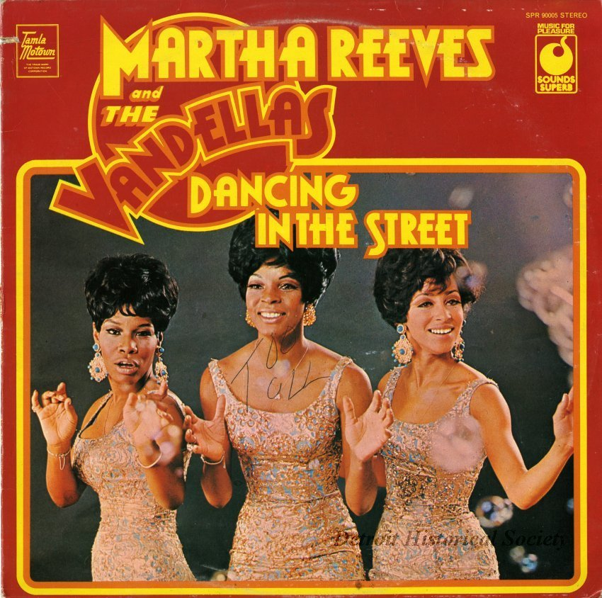 Source: Detroit Historical Society depicts Martha and the Vandellas. See real images of Motown, the Society celebrating the 60th anniversary ( here) .