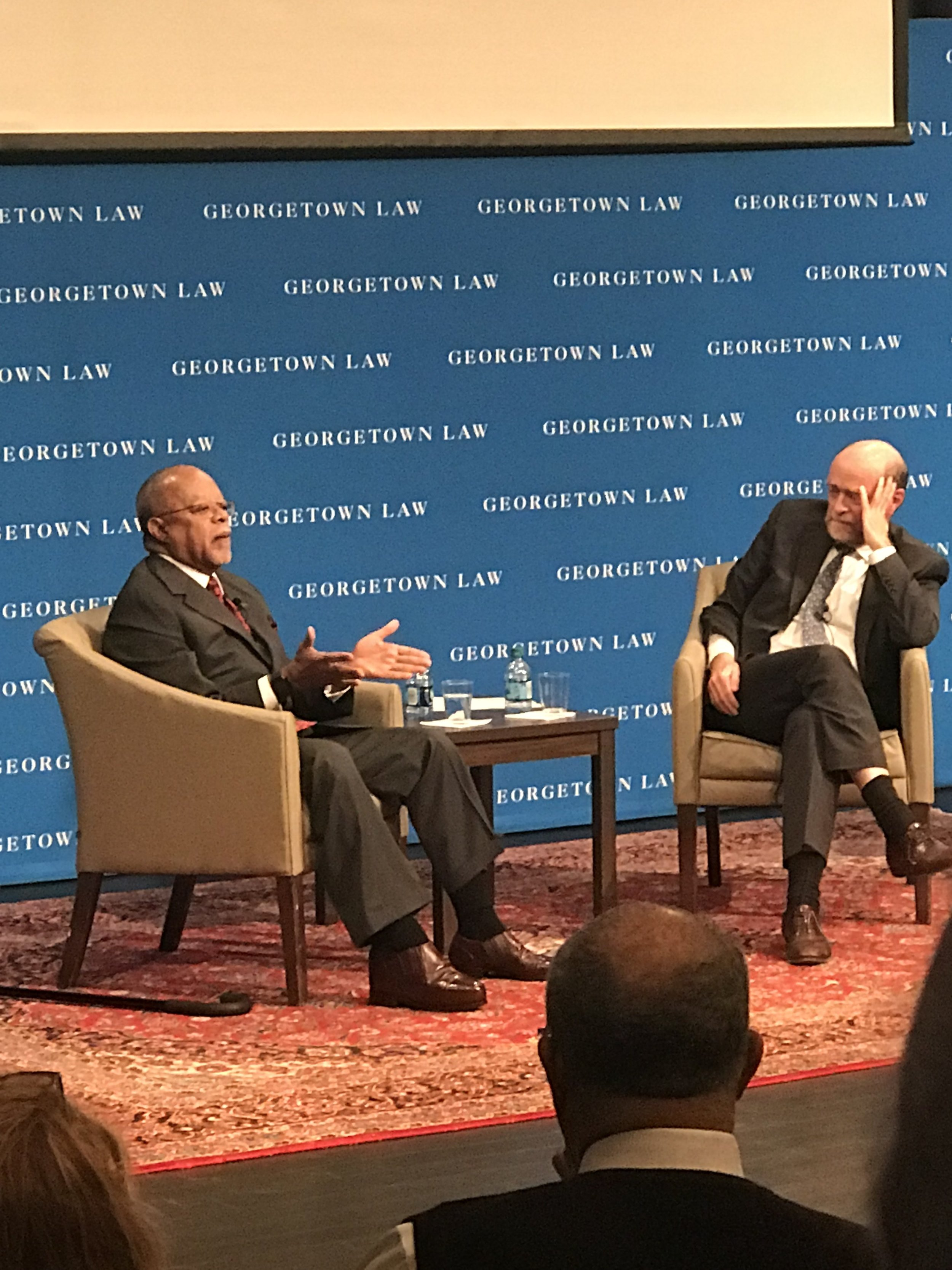 Harvard University Professor Henry Louis Gates, Jr. and Georgetown Law Dean William Treanor Source: CALIFORNIA IS ME