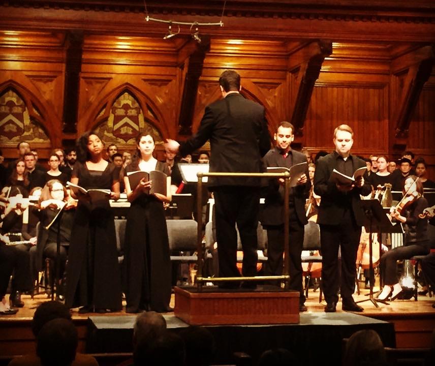 Harvard Choruses: Trevor Weston,  Griot Legacies  (tenor soloist)
