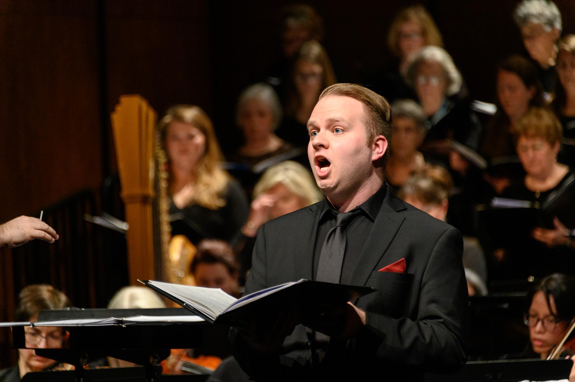 Vashon Island Chorale (tenor soloist)