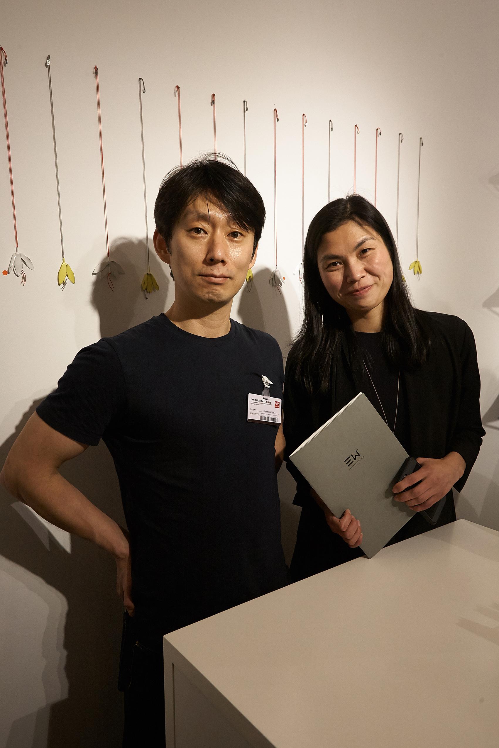 Hyunseok Sim and Racheal Zhou