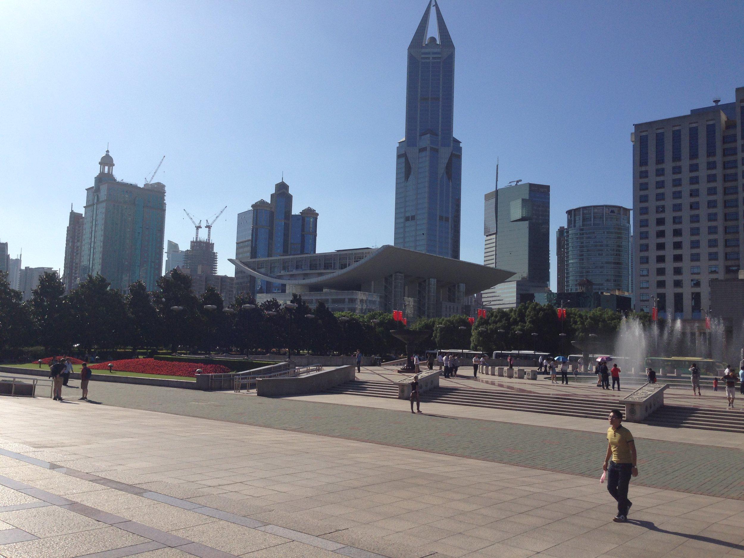 Peoples Square Shanghai