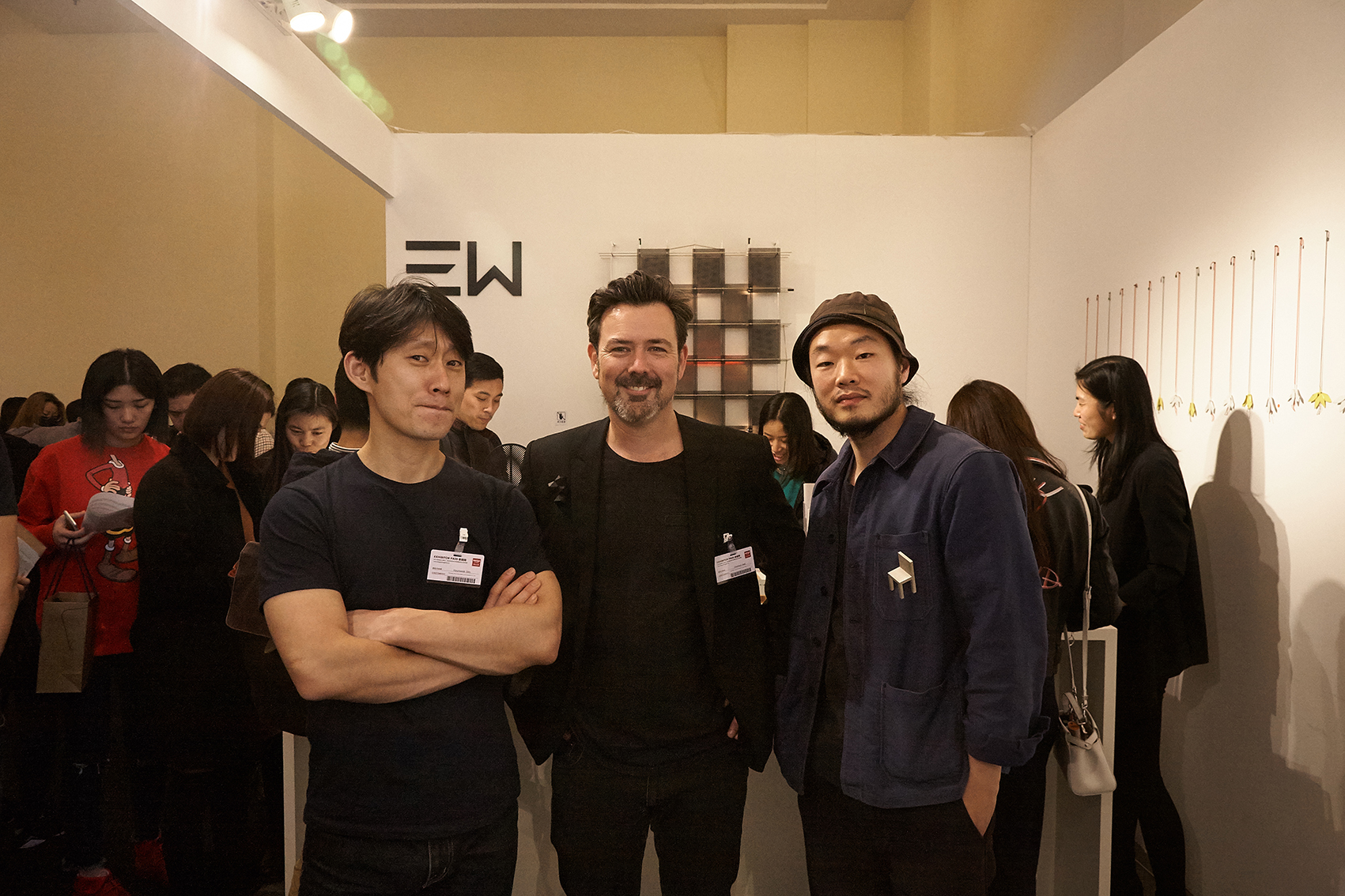 From left to right; Hyunseok Sim, Christian Hall and Kenny   Yong-soo Son