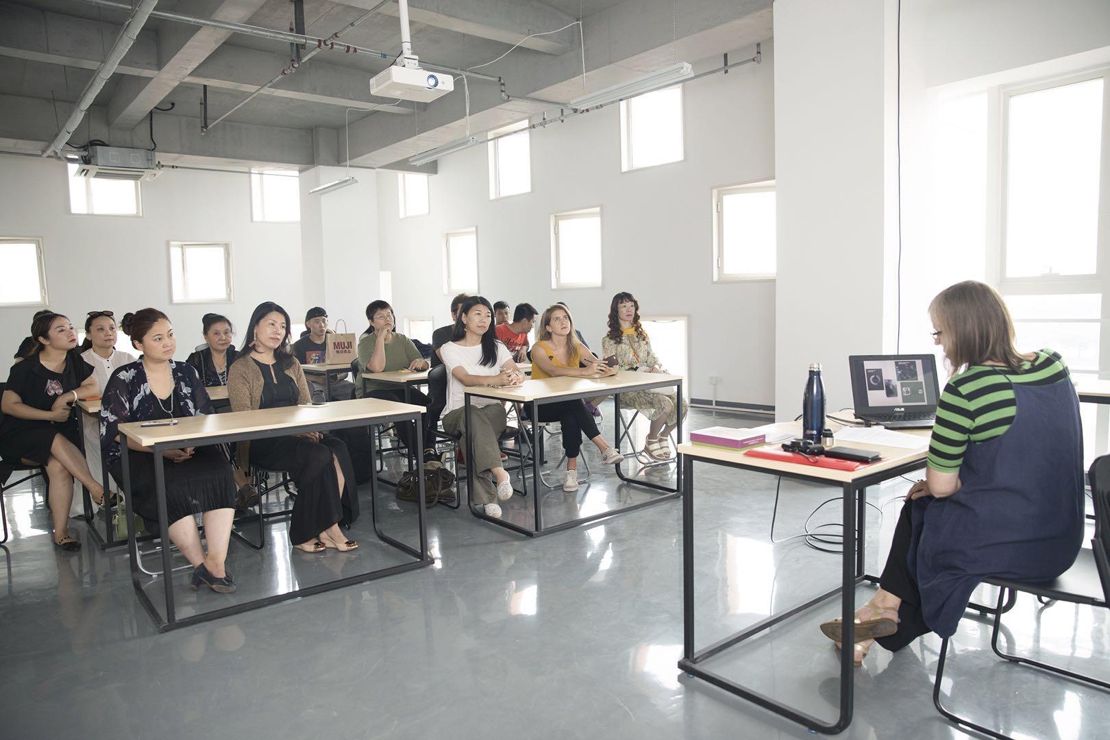 Artist talk  Photograph Zoe Zeng