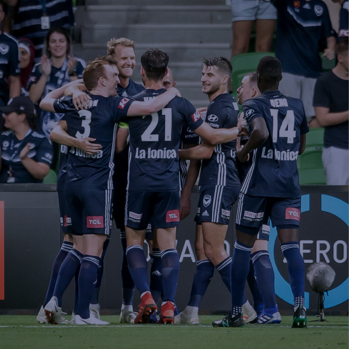 MELBOURNE VICTORY SUPPORT - Melbourne Victory proudly supports the Charan Foundation in its endeavours to encourage young people to be involved in sport by providing financial assistance to individuals, clubs, and programs.